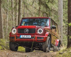 Diesel for G-Wagen. Image by Mercedes-Benz.