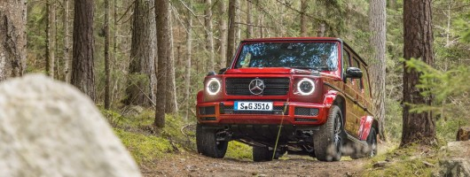 First drive: Mercedes-Benz G 350 d. Image by Mercedes-Benz.