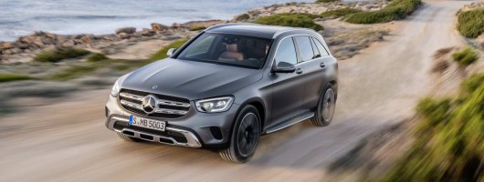 Mercedes blesses GLC with new engines and tech. Image by Mercedes-Benz.