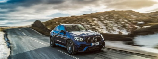 Driven: Mercedes-AMG GLC 63 S Coupe. Image by Mercedes UK.