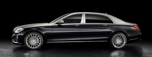 Mercedes-Maybach S-Class revised. Image by Mercedes.