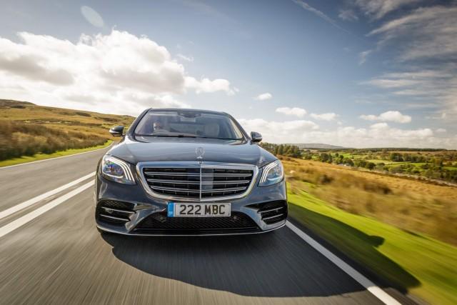 Driven: Mercedes-Benz S 350 d. Image by Mercedes-Benz.
