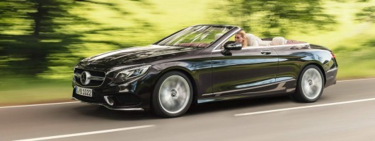 First drive: Mercedes-Benz S 560 Cabriolet. Image by Mercedes-Benz.