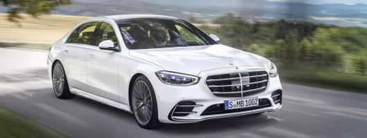 Mercedes reveals technofest W223 S-Class. Image by Mercedes-Benz.