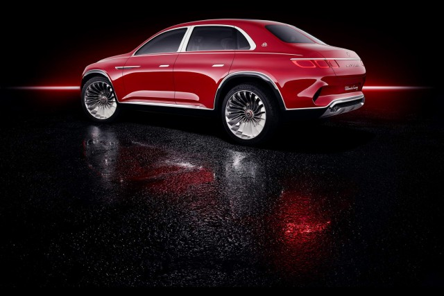 Mercedes-Maybach drops odd saloon-SUV concept. Image by Mercedes-Maybach.