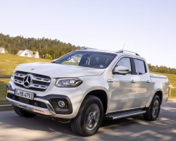 V6-engined Merc X-Class. Image by Mercedes-Benz.