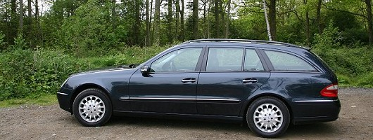 2004 Mercedes-Benz E-Class Estate review. Image by Shane O' Donoghue.