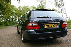 2004 Mercedes-Benz E320 CDI Estate. Image by Shane O' Donoghue.