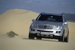 2005 Mercedes-Benz ML-class. Image by Mercedes-Benz.