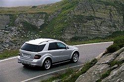 2005 Mercedes-Benz ML 63 AMG. Image by Mercedes-Benz.