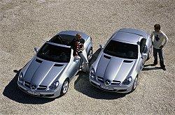 2004 Mercedes SLK. Image by Mercedes-Benz.