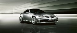 Merc makes an SLK for the track. Image by Mercedes-Benz.