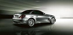 2006 Mercedes-Benz SLK 55 AMG special. Image by Mercedes-Benz.