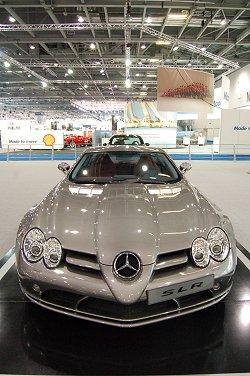 Mercedes-Benz SLR McLaren. Image by Phil Ahern.