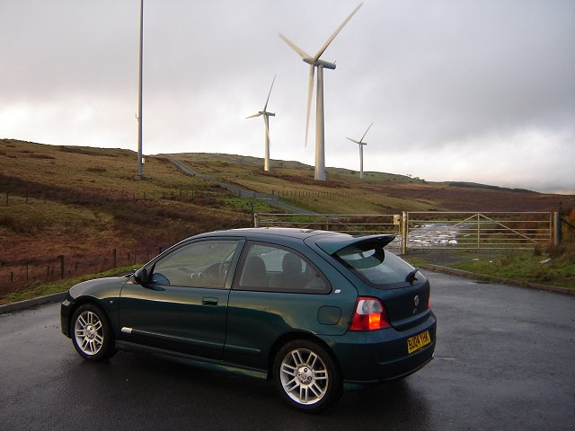2004 MG ZR TD review. Image by James Jenkins.