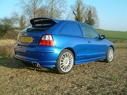 2003 MG ZR Express review. Image by Shane O' Donoghue.