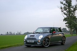 2006 Mini Cooper S with John Cooper Works GP kit. Image by Shane O' Donoghue.