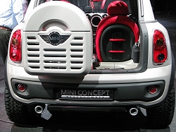 2010 MINI Beachcomber concept. Image by Mark Nichol.