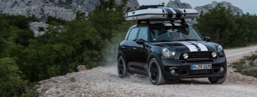 First drive: MINI Countryman All4 Camp concept. Image by MINI.