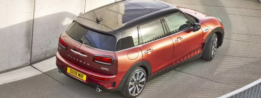 MINI tweaks its Clubman proposition. Image by MINI.
