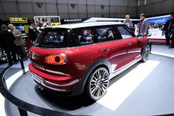 2014 MINI Clubman Concept. Image by Newspress.