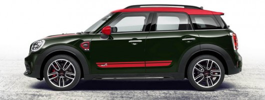 MINI Countryman benefits from hot JCW flagship. Image by MINI.