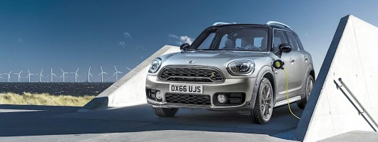 MINI hybrid on sale in June. Image by MINI.