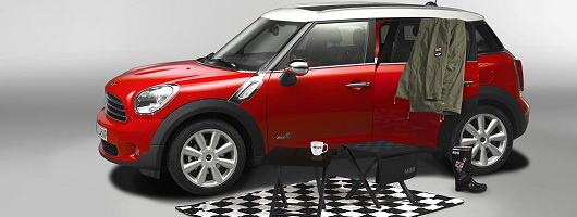 mini 4x4 getaway pack news by car enthusiast. Black Bedroom Furniture Sets. Home Design Ideas