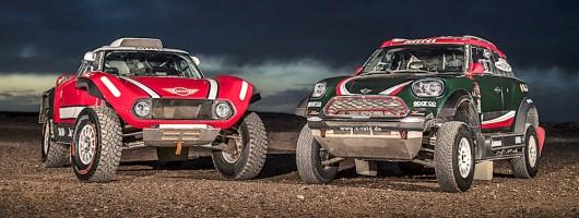 MINI Buggy aiming for Dakar 2018 win. Image by MINI.