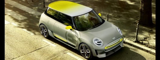 MINI goes electric - for real. Image by MINI.