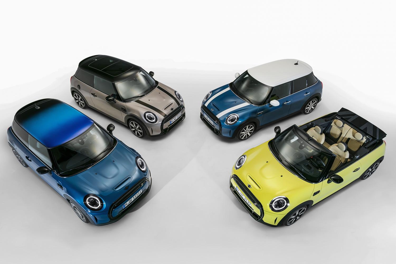 MINI overhauls range with new looks. Image by MINI.