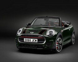Incoming: MINI JCW Convertible. Image by MINI.