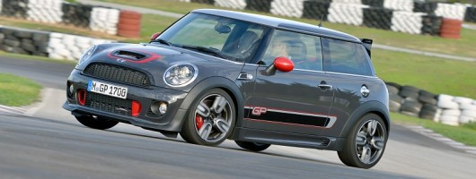 Track test: MINI John Cooper Works GP. Image by MINI.