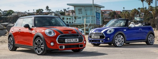 MINI models benefit from new technology. Image by MINI.