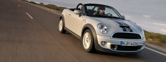 First drive: MINI Roadster. Image by MINI.