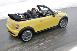 2009 MINI Convertible. Image by MINI.