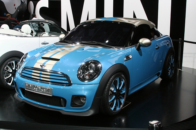The Car Enthusiast Image Gallery 2009 Mini Coup Concept