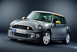 2009 MINI E. Image by MINI.