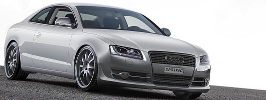 Sportec boosts Audi S5 to 425bhp. Image by APS Sportec.