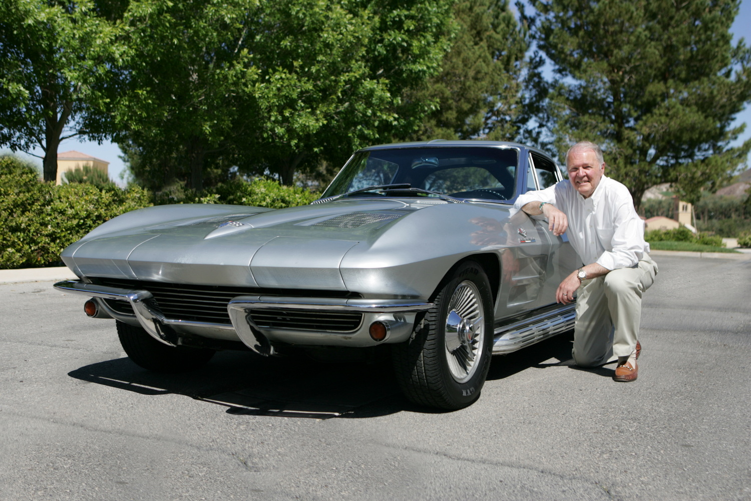 C2 Corvette designer involved in revived EV version. Image by AVA.