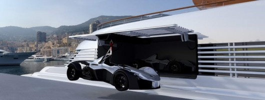 Say ahoy to the BAC Mono - The Marine Edition. Image by BAC.