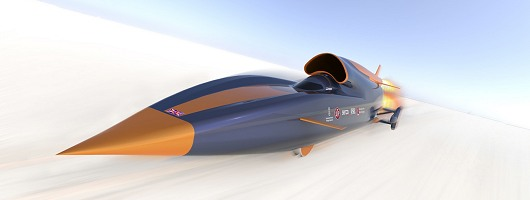 Bloodhound set to top 1,000mph. Image by Curventa.