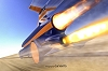Land speed record car gets Eurofighter engine. Image by Bloodhound.
