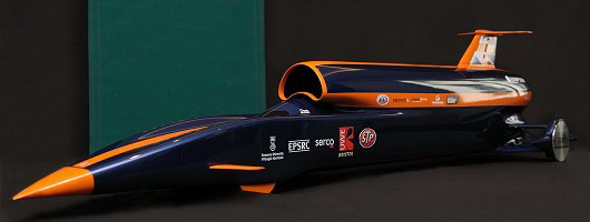 Rolex joins Bloodhound project. Image by Bloodhound.