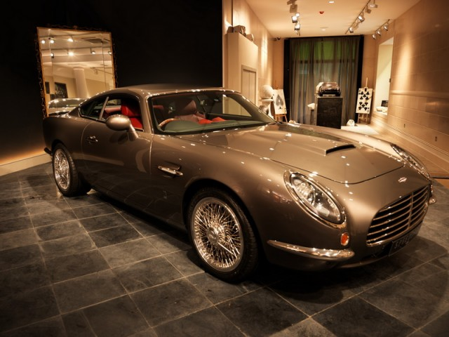 DBA unveils 'modern' DB5. Image by David Brown Automotive.