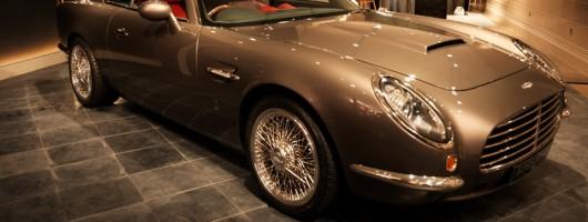 DBA unveils 'modern' DB5. Image by David Brown Automotive.