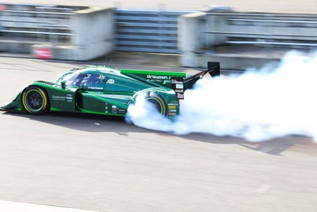 New electric land speed record attempt. Image by Drayson.