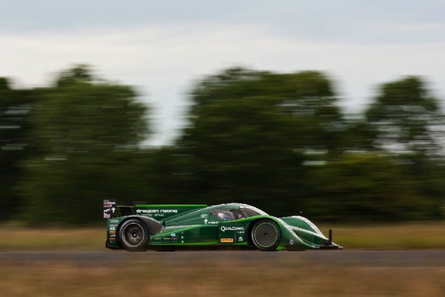 Drayson Racing sets electric speed record. Image by Drayson.