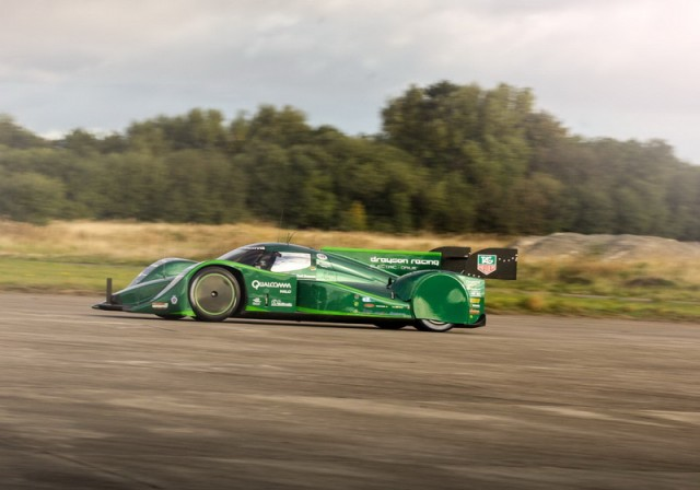 Drayson Racing sets four speed records. Image by Drayson.