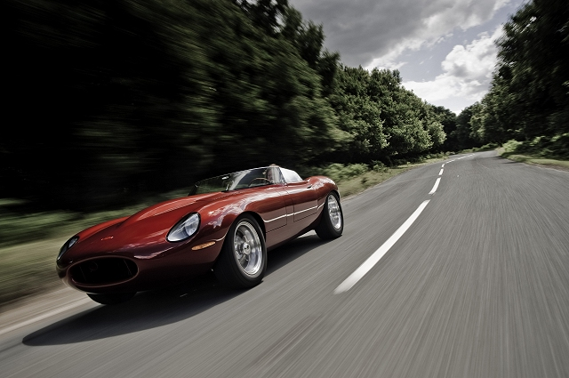 E-type Speedster arrives. Image by Eagle E-type.
